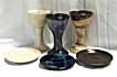 photo of communion pottery sets made by Debra Ocepek of Ocepek Pottery Communionware